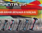 Nowe modele deskorolek elektrycznych Manta